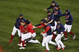 Red Sox defeat Rays with late sac fly, move on to ALCS