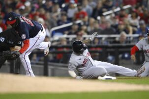 Sox beat Nationals, pick up game on Yankees in Wild Card race